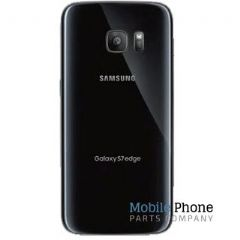 Genuine Samsung Galaxy S7 Edge G935F Battery Back Cover Black - Part No: GH82-11346A